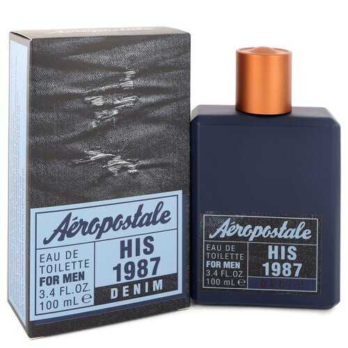 Aeropostale His 1987 Denim by Aeropostale Eau De Toilette Spray 3.4 oz (Men)