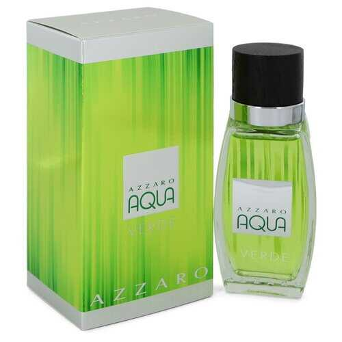 Azzaro Aqua Verde by Azzaro Eau De Toilette Spray 2.6 oz (Men)