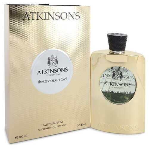 The Other Side of Oud by Atkinsons Eau De Parfum Spray (Unisex) 3.3 oz (Women)