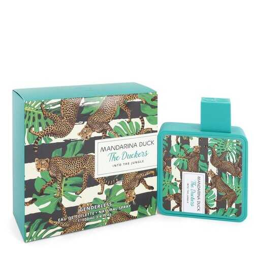 Into The Jungle by Mandarina Duck Eau De Toilette Spray (Unisex) 3.4 oz (Women)