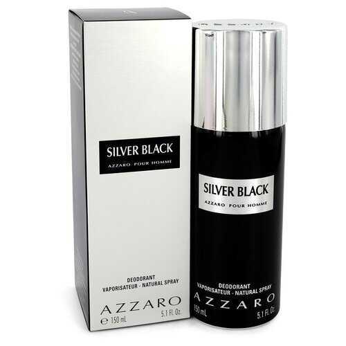 Silver Black by Azzaro Deodorant Spray 5.1 oz (Men)