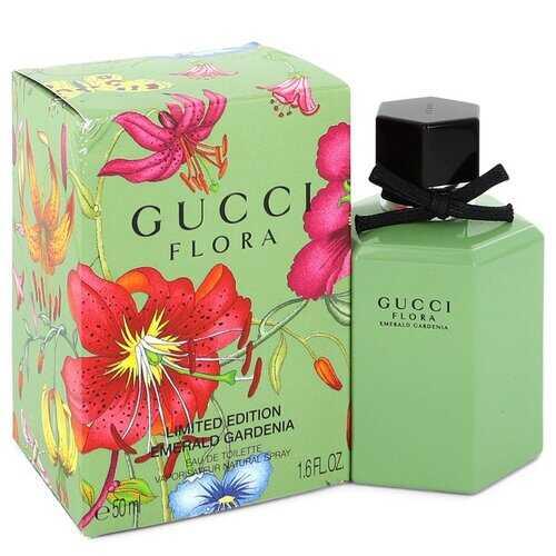 Flora Emerald Gardenia by Gucci Eau De Toilette Spray (Limited Edition Packaging) 1.6 oz (Women)