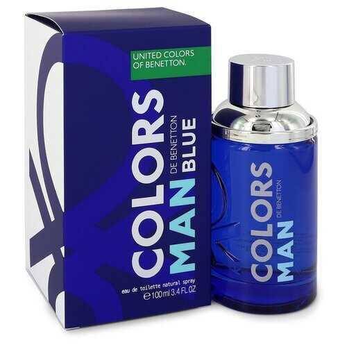 Colors De Benetton Blue by Benetton Eau De Toilette Spray 3.4 oz (Men)