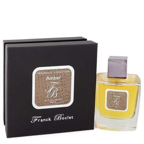 Franck Boclet Amber by Franck Boclet Eau De Parfum Spray (Unisex) 3.4 oz (Men)