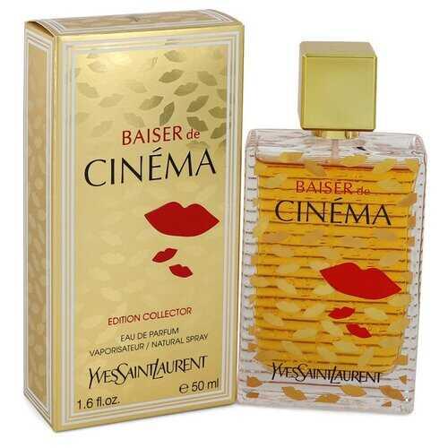 Baiser De Cinema by Yves Saint Laurent Eau De Parfum Spray 1.6 oz (Women)