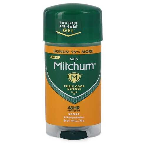 Mitchum Sport Anti-Perspirant & Deodorant Gel by Mitchum Sport Anti-Perspirant & Deodorant Gel 48 hour protection 2.82 oz (Men)