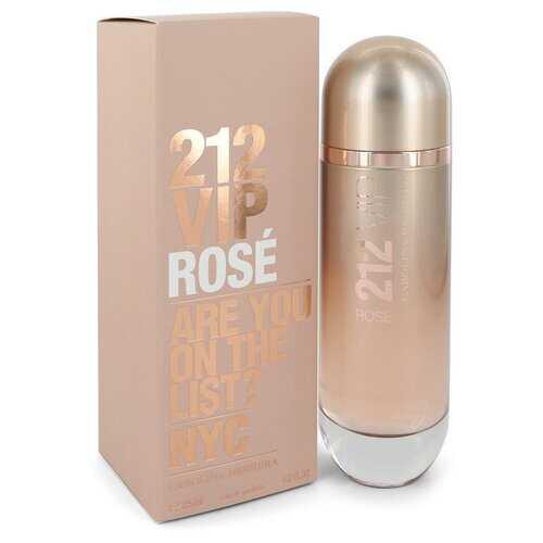 212 VIP Rose by Carolina Herrera Eau De Parfum Spray 4.2 oz (Women)