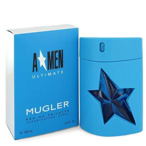 Angel Amen Ultimate by Thierry Mugler Eau De Toilette Spray 3.4 oz (Men)