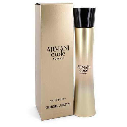 Armani Code Absolu by Giorgio Armani Eau De Parfum Spray 2.5 oz (Women)