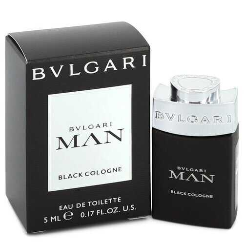 Bvlgari Man Black Cologne by Bvlgari Mini EDT .17 oz (Men)
