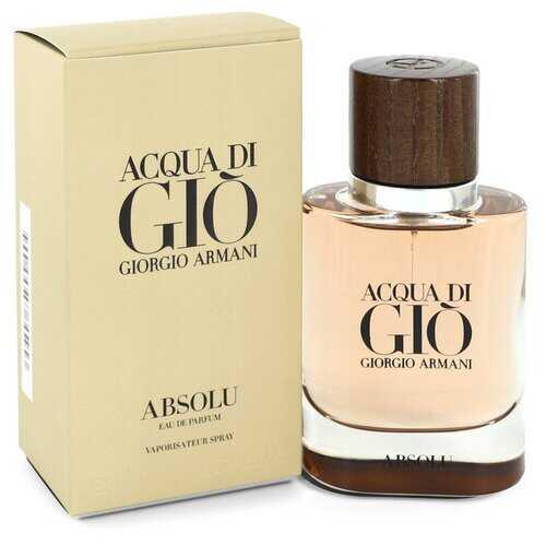 Acqua Di Gio Absolu by Giorgio Armani Eau De Parfum Spray 1.35 oz (Men)