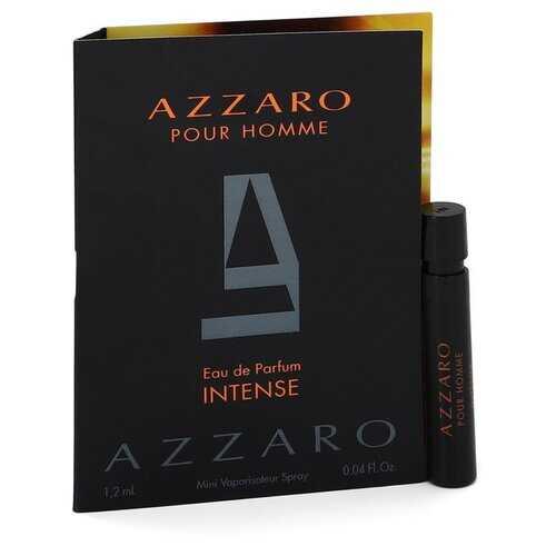 Azzaro Intense by Azzaro Vial (sample) .04 oz (Men)