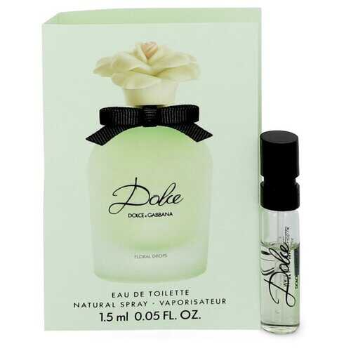 Dolce Floral Drops by Dolce & Gabbana Vial (sample) .05 oz (Women)