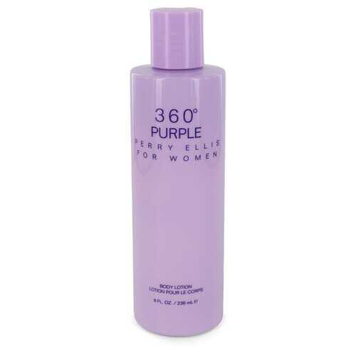 Perry Ellis 360 Purple by Perry Ellis Body Lotion 8 oz (Women)