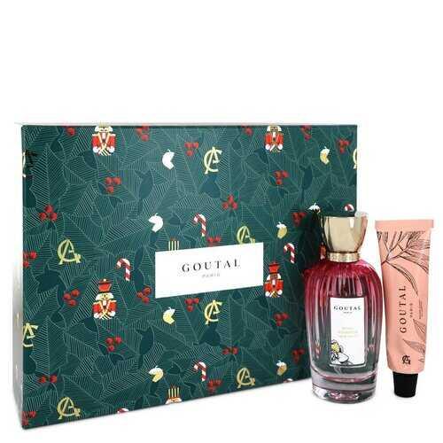 Annick Goutal Rose Pompon by Annick Goutal Gift Set -- 3.4 oz Eau De Toilette Spray + 1.3 oz Garden Hand Balm (Women)
