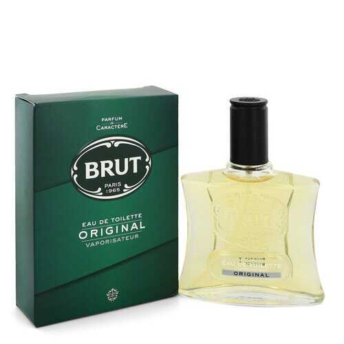 BRUT by Faberge Eau De Toilette Spray (Original Glass Bottle) 3.4 oz (Men)