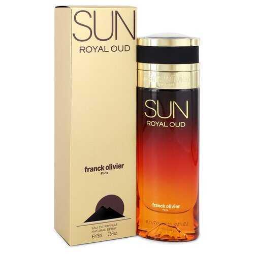 Sun Royal Oud by Franck Olivier Eau De Parfum Spray 2.5 oz (Women)