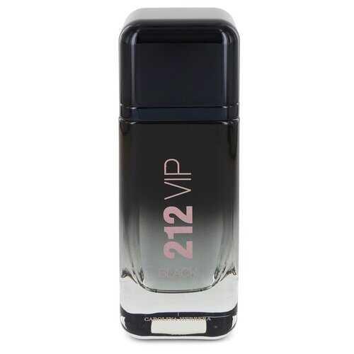 212 VIP Black by Carolina Herrera Eau De Parfum Spray (Tester) 3.4 oz (Men)
