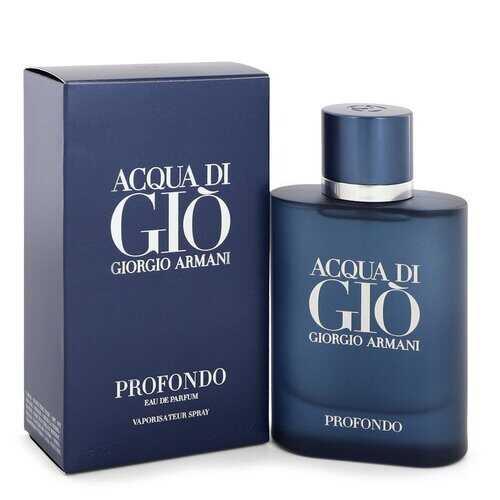 Acqua Di Gio Profondo by Giorgio Armani Eau De Parfum Spray 2.5 oz (Men)