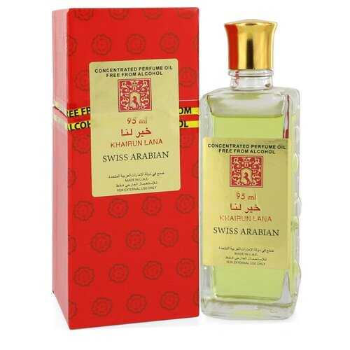 Khairun Lana by Swiss Arabian Concentrated Perfume Oil Free From Alcohol (Unisex) 3.2 oz (Women)