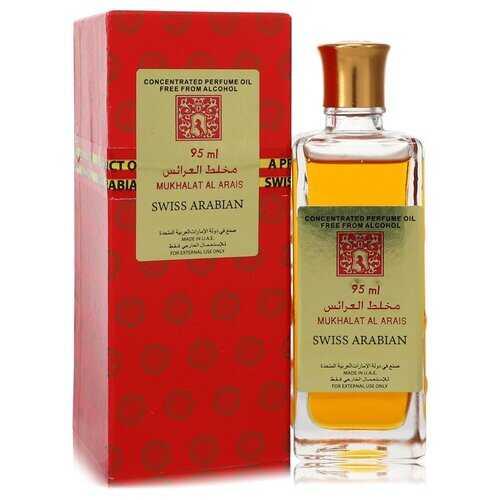 Mukhalat Al Arais by Swiss Arabian Concentrated Perfume Oil Free From Alcohol (Unisex) 3.2 oz (Men)