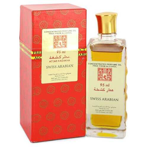 Attar Kashkha by Swiss Arabian Concentrated Perfume Oil Free From Alcohol (Unisex) 3.2 oz (Women)