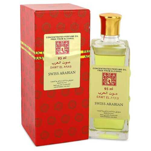Sawt El Arab by Swiss Arabian Concentrated Perfume Oil Free From Alcohol (Unisex) 3.2 oz (Women)