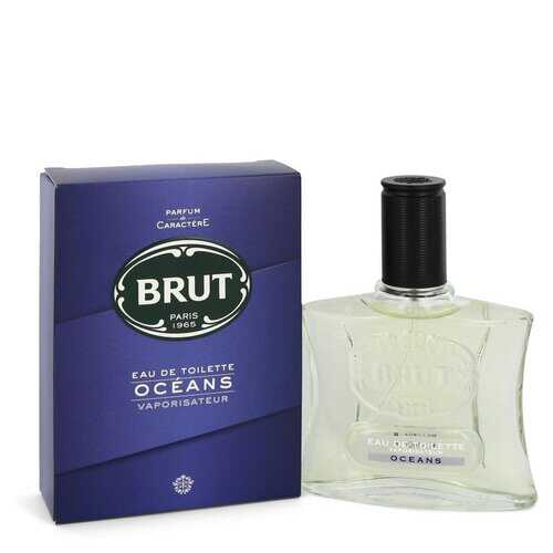 Brut Oceans by Faberge Eau De Toilette Spray 3.4 oz (Men)