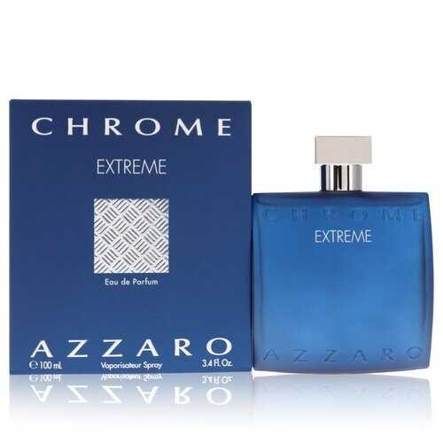 Chrome Extreme by Azzaro Eau De Parfum Spray 3.4 oz (Men)