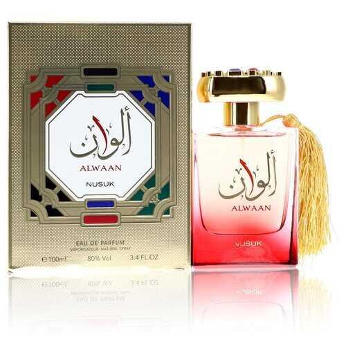 Alwaan by Nusuk Eau De Parfum Spray (Unisex) 3.4 oz (Women)