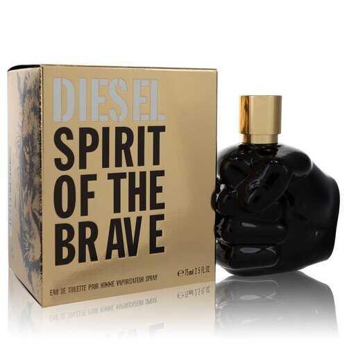 Spirit of the Brave by Diesel Eau De Toilette Spray 2.5 oz (Men)