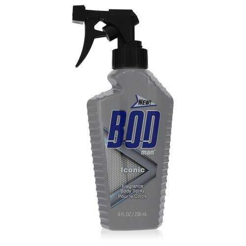 Bod Man Iconic by Parfums De Coeur Body Spray 8 oz (Men)