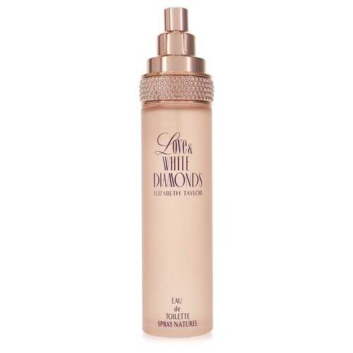 Love & White Diamonds by Elizabeth Taylor Eau De Toilette Spray (Tester) 3.3 oz (Women)