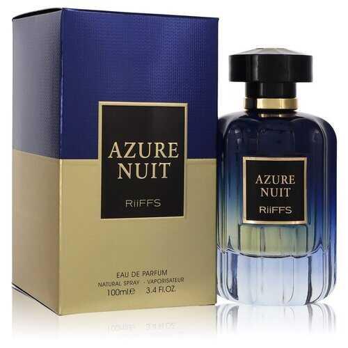 Azure Nuit by Riiffs Eau De Parfum Spray 3.4 oz (Men)