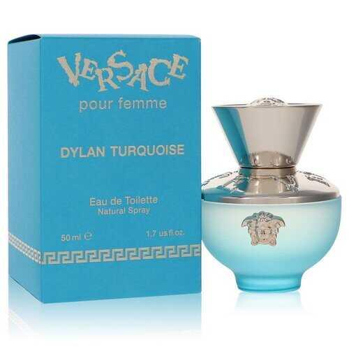 Versace Pour Femme Dylan Turquoise by Versace Eau De Toilette Spray 1.7 oz (Women)