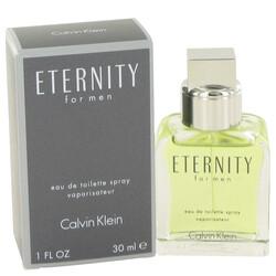 ETERNITY by Calvin Klein Eau De Toilette Spray 1 oz (Men)