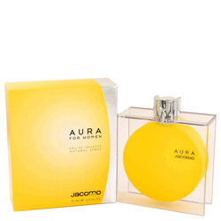 AURA by Jacomo Eau De Toilette Spray 2.4 oz (Women)