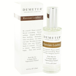 Demeter Russian Leather by Demeter Cologne Spray 4 oz (Women)