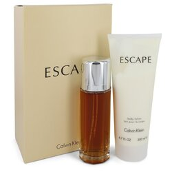 ESCAPE by Calvin Klein Gift Set -- 3.4 oz Eau De Parfum Spray + 6.7 oz Body Lotion (Women)