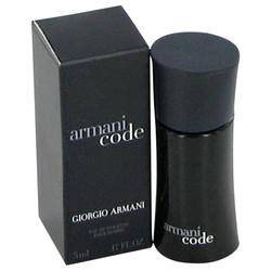 Armani Code by Giorgio Armani Mini EDT .17 oz (Men)