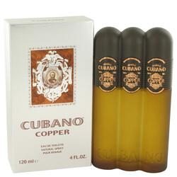 Cubano Copper by Cubano Eau De Toilette Spray 4 oz (Men)