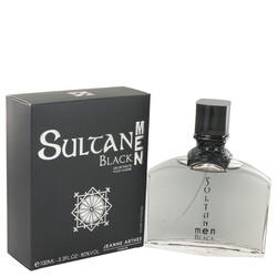 Sultan Black by Jeanne Arthes Eau De Toilette Spray 3.3 oz (Men)