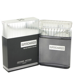Supercharged by Jeanne Arthes Eau De Toilette Spray 3.3 oz (Men)