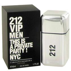 212 Vip by Carolina Herrera Eau De Toilette Spray 1.7 oz (Men)