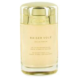 Baiser Vole by Cartier Eau De Parfum Spray (Tester) 3.4 oz (Women)