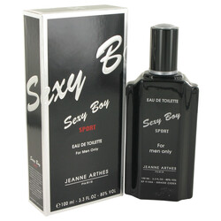 Sexy Boy Sport by Jeanne Arthes Eau De Toilette Spray 3.4 oz (Men)