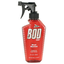 Bod Man Most Wanted by Parfums De Coeur Fragrance Body Spray 8 oz (Men)