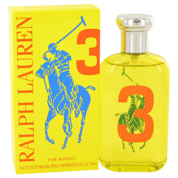 Big Pony Yellow 3 by Ralph Lauren Eau De Toilette Spray 3.4 oz (Women)