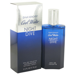 Cool Water Night Dive by Davidoff Eau De Toilette Spray 2.5 oz (Men)