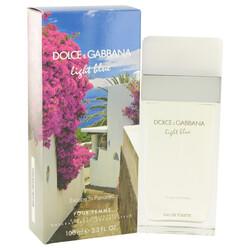 Light Blue Escape to Panarea by Dolce & Gabbana Eau De Toilette Spray 3.3 oz (Women)